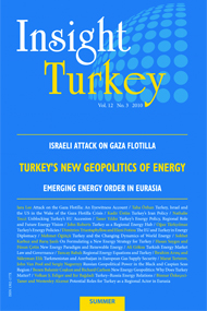 Turkey's New Geopolitics of Energy