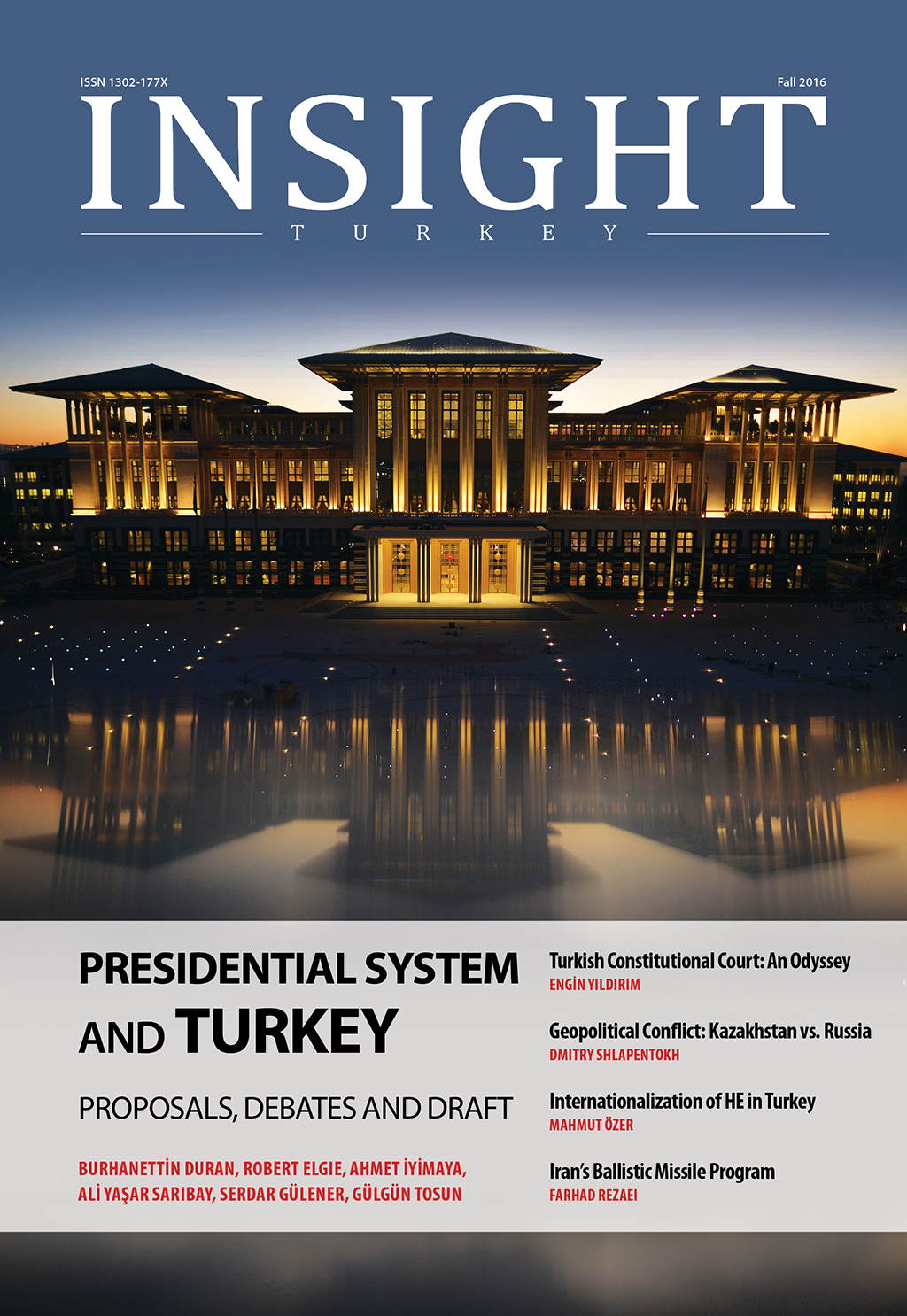 Presidential System and Turkey