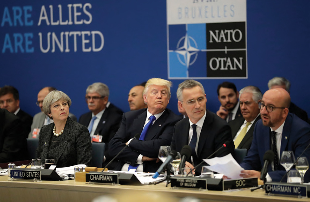 Mr Trump Post Nuclear Ban Treaty NATO s Nuclear Weapons