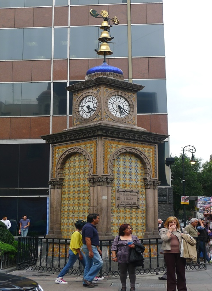 Turkey's opening to Latin America: TİKA restored the clock tower known as the