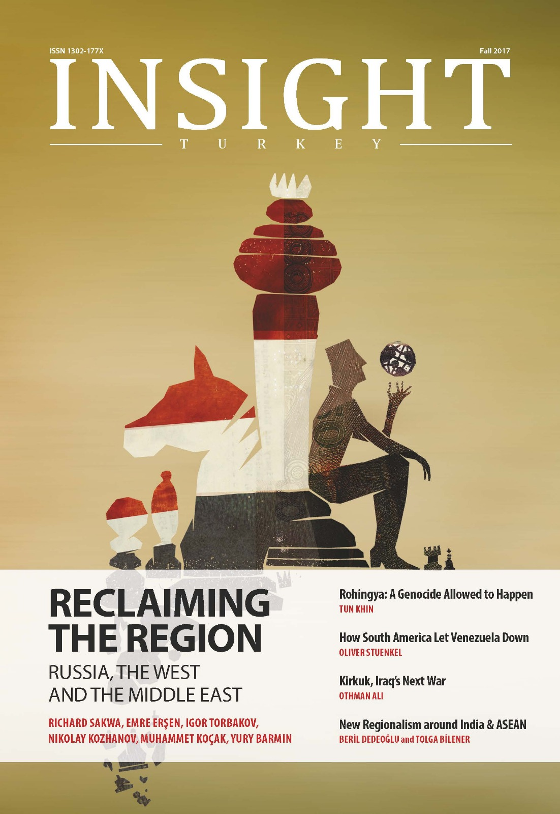 Reclaiming the Region Russia the West and the Middle East