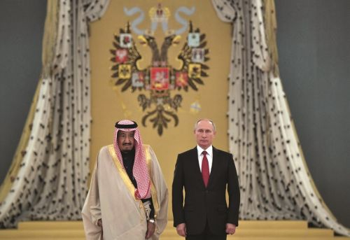 Russian Energy Policy in the Middle East