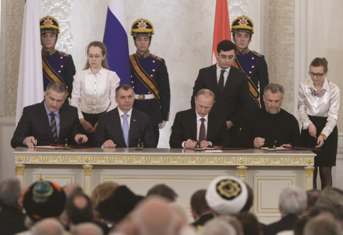 The Crimean Crisis in the Context of New Russian Geopolitics