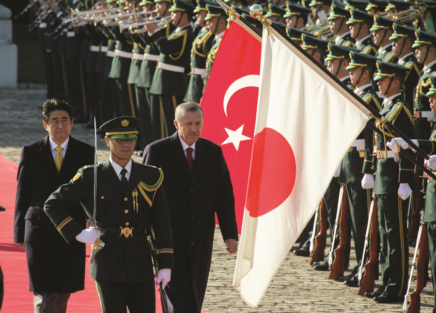 Japan and Turkey The Contours and Current Status of an