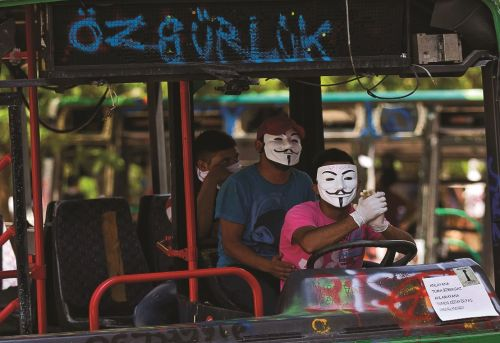 Gezi Park Negotiating a New Left Identity