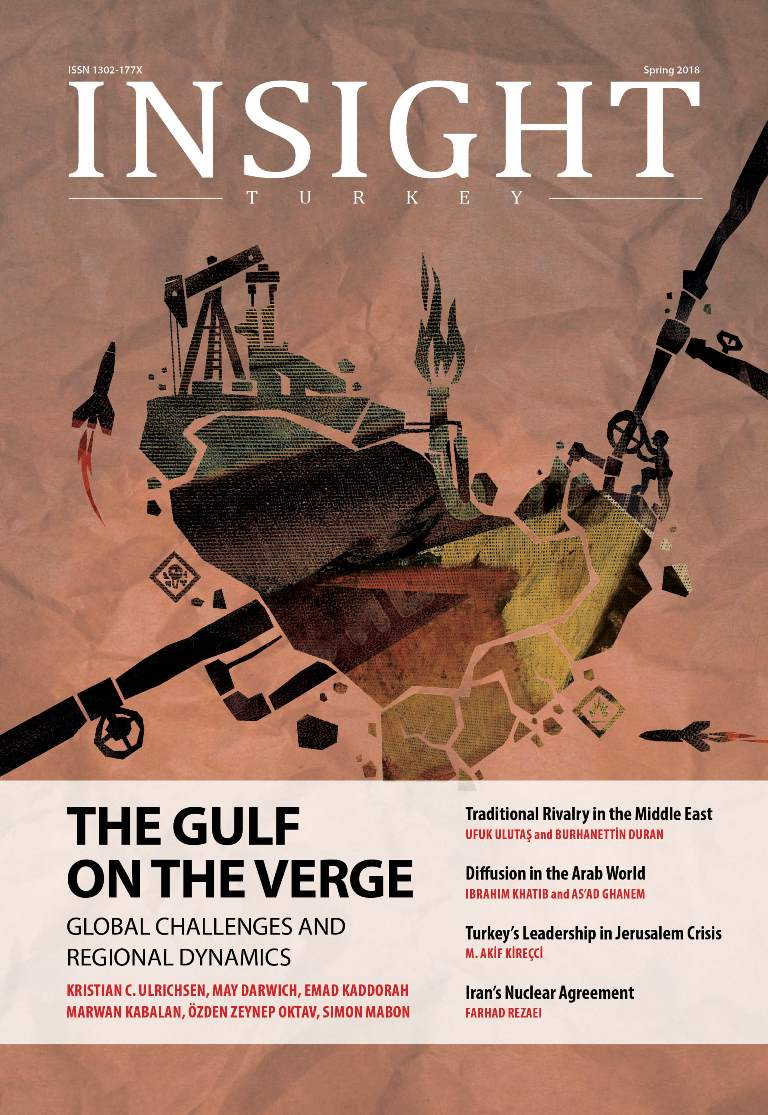The Gulf on the Verge Ambitions Crises and Shattering Order