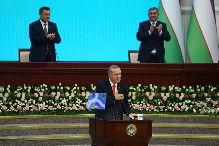 Uzbekistan as a Gateway for Turkey s Return to Central