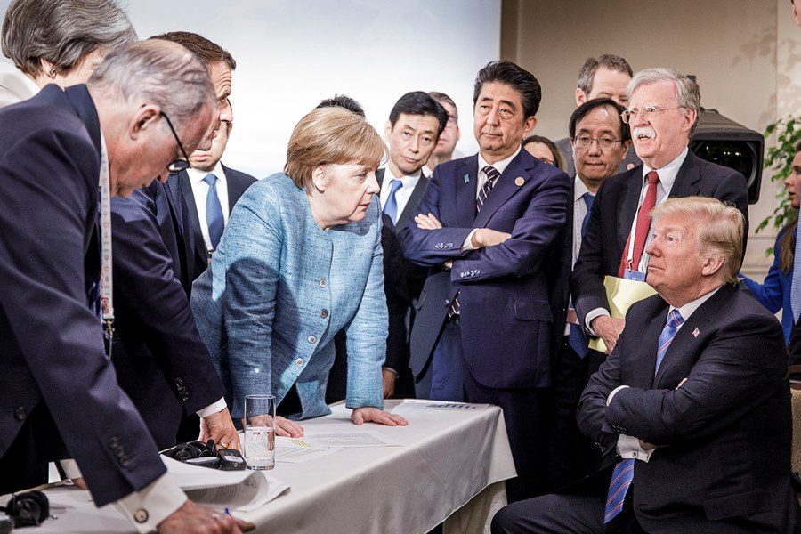 G7 summit in Canada