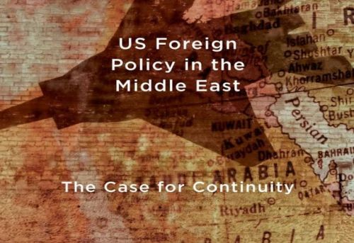 US Foreign Policy in the Middle East The Case for