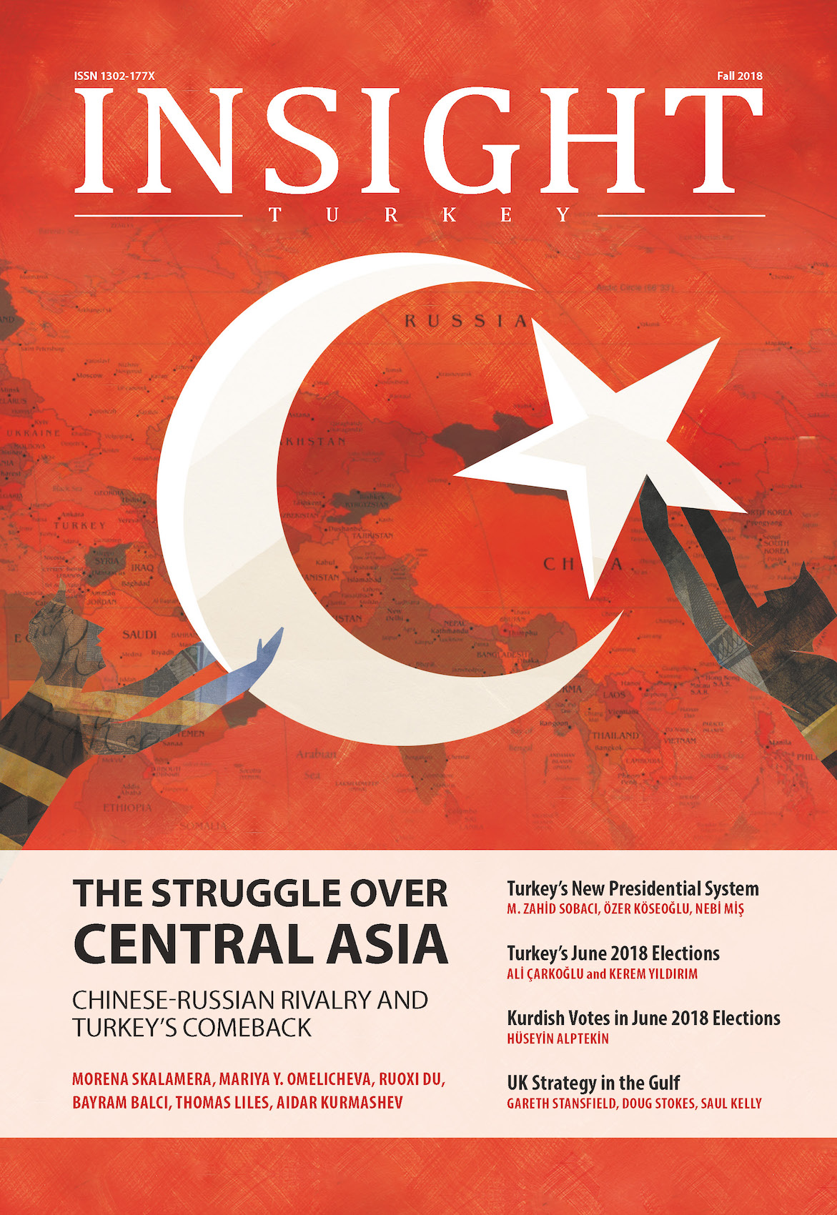 The Struggle over Central Asia Chinese-Russian Rivalry and Turkey's Comeback