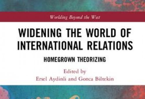 Widening the World of International Relations Homegrown Theorizing