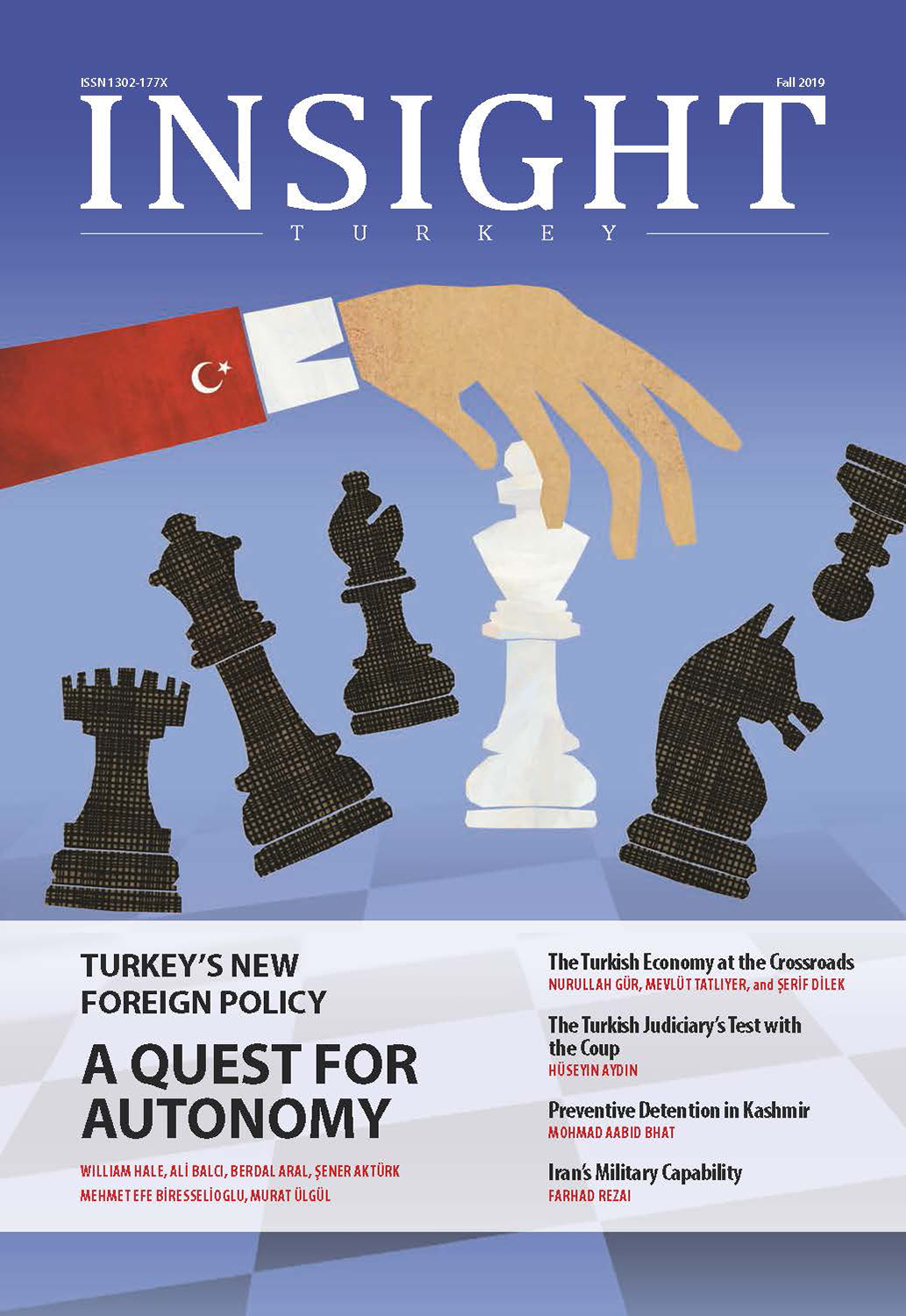 Turkey's New Foreign Policy A Quest for Autonomy