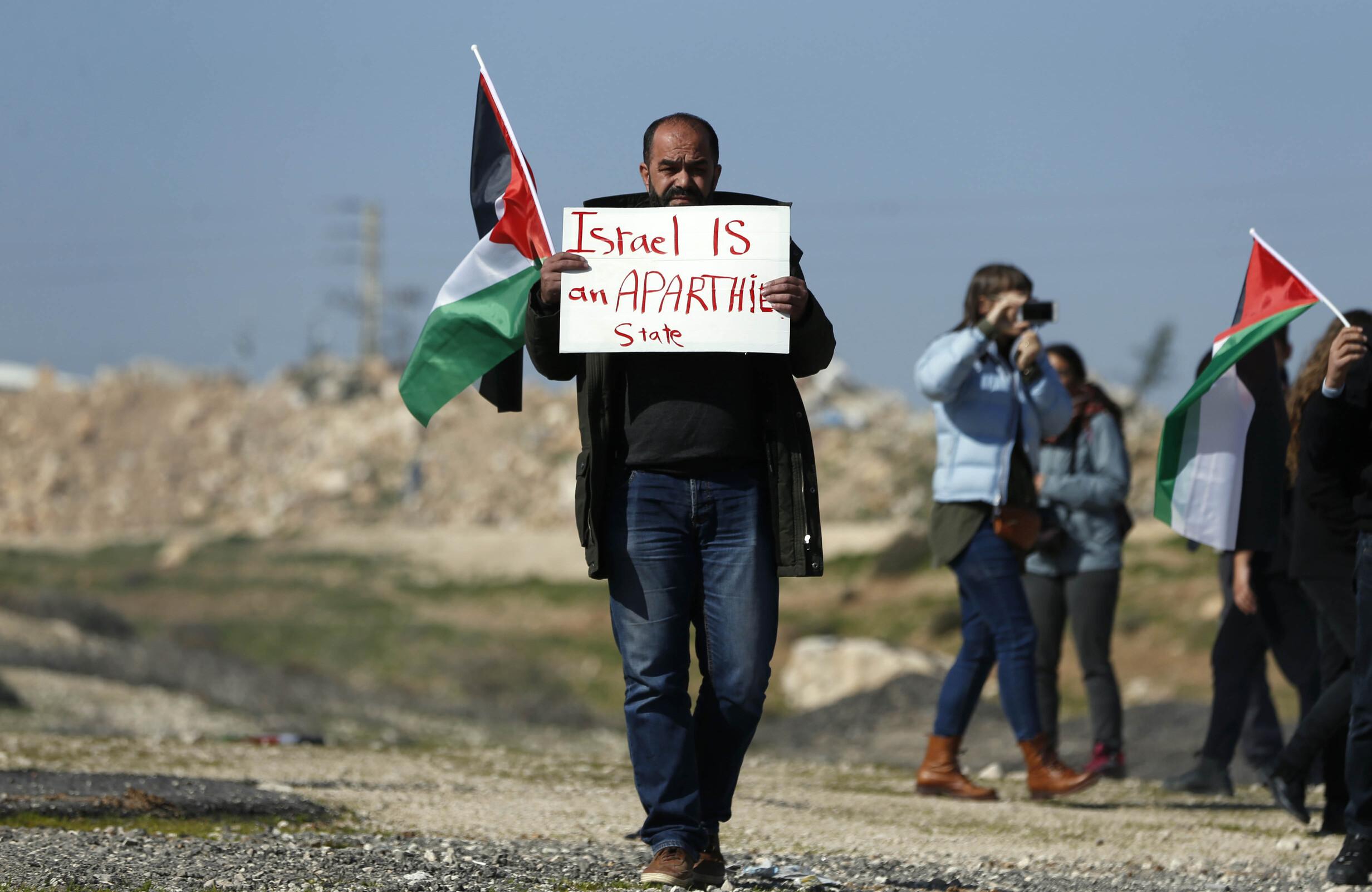 Israel Palestine and Apartheid